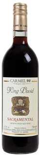 Carmel King David Sacramental 750ml - Case of 12